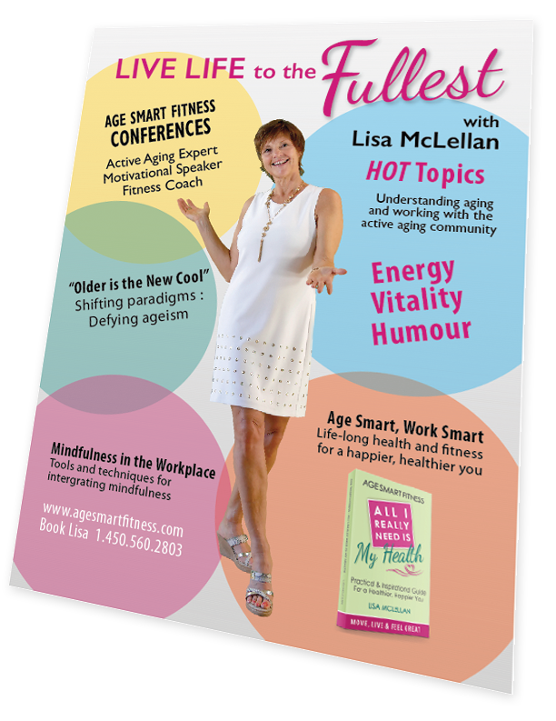 Lisa McLellan - One Pager - Age Smart Fitness
