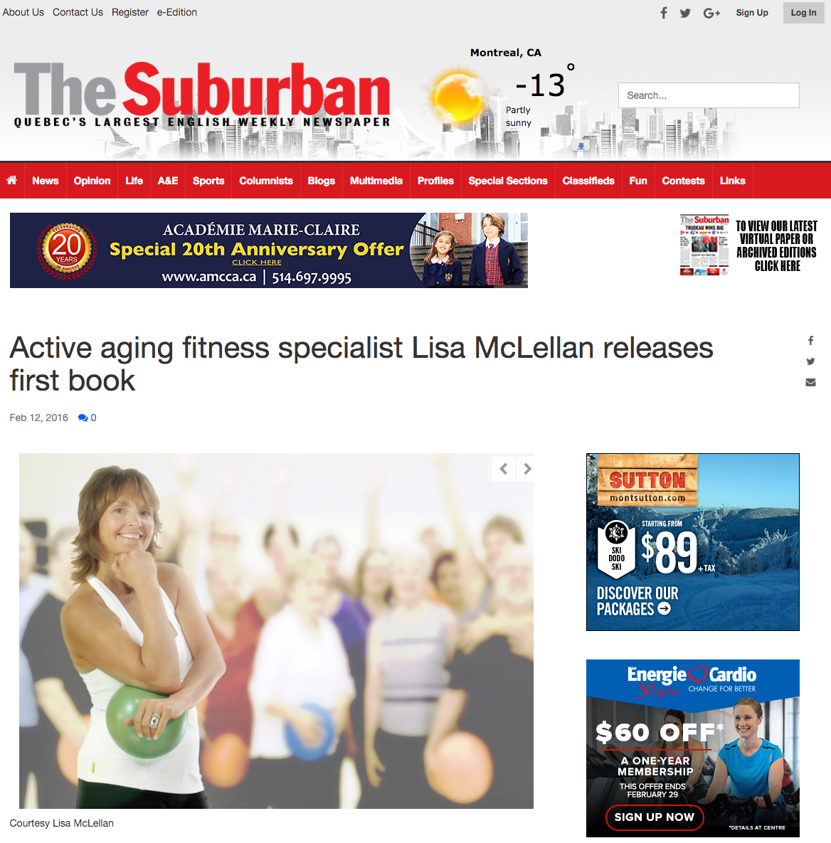 The Suburban with Lisa McLellan