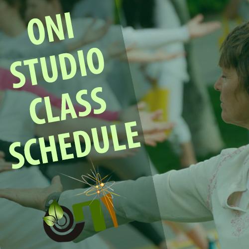 ONI Studio Class Schedule